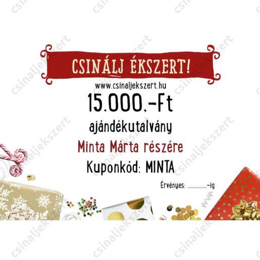 15.000 Ft-os Csinálj Ékszert! Ajándékutalvány