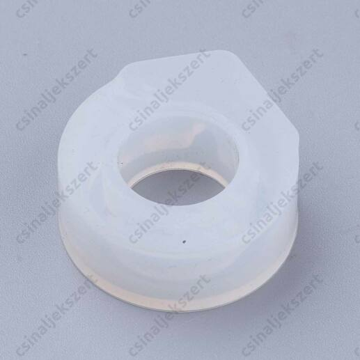 17 mm Aszimmetrikus csúcsos Gyűrű szilikon öntőforma