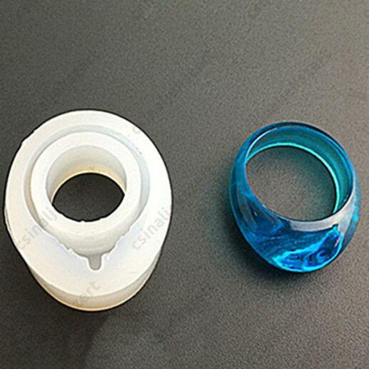17 mm Nyújtott tetejű gyűrű szilikon öntőforma