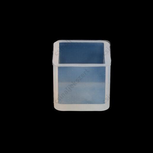 25x25 mm kocka szilikon öntőforma
