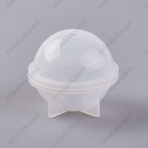 30 mm gömb alakú szilikon öntőforma
