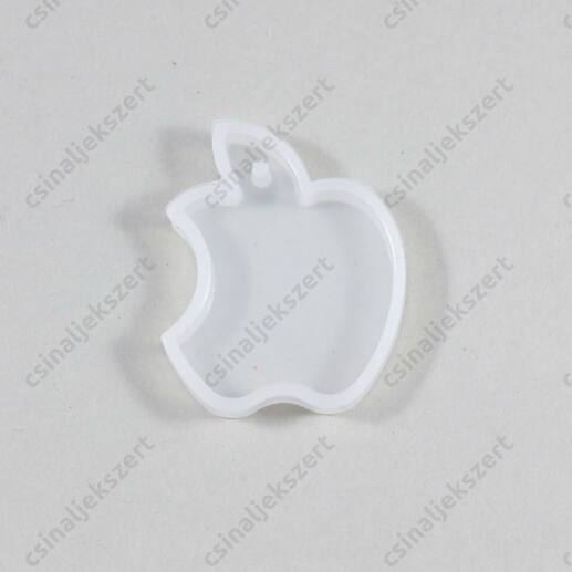 40 mm Harapott alma alakú szilikon medál öntőforma