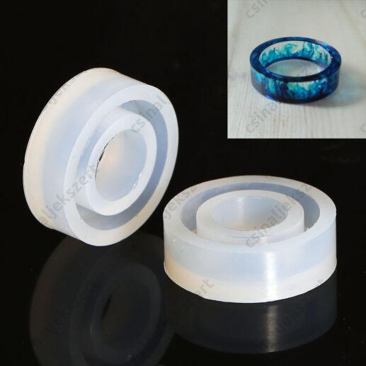 27 mm Gyűrű szilikon öntőforma